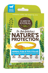 Earth Animal Herbal Flea & Tick Collar for Dogs