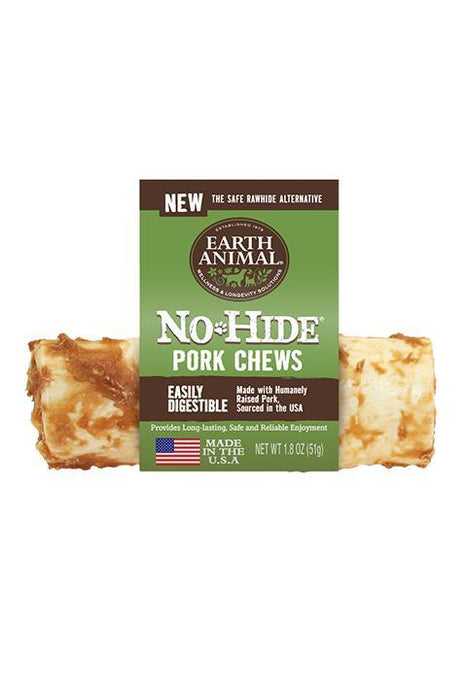 Earth Animal No-Hide Pork Chews dog treats