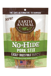 Earth Animal No-Hide Pork Stix dog treats
