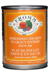 Fromm Shredded Chicken in Gravy wet Dog Food
