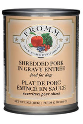 Fromm Shredded Pork in Gravy Canned Dog Food