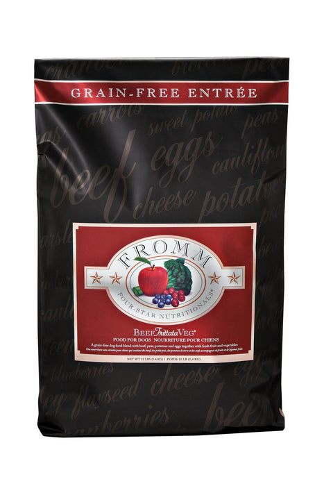 Fromm Four-Star Beef Frittata Grain Free Dog Food