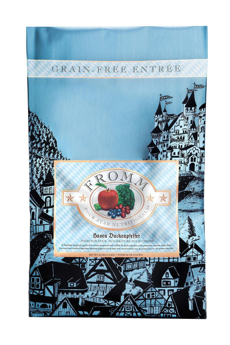 Fromm Four-Star Hasen Duckenfeffer Rabbit and Duck Dog Food