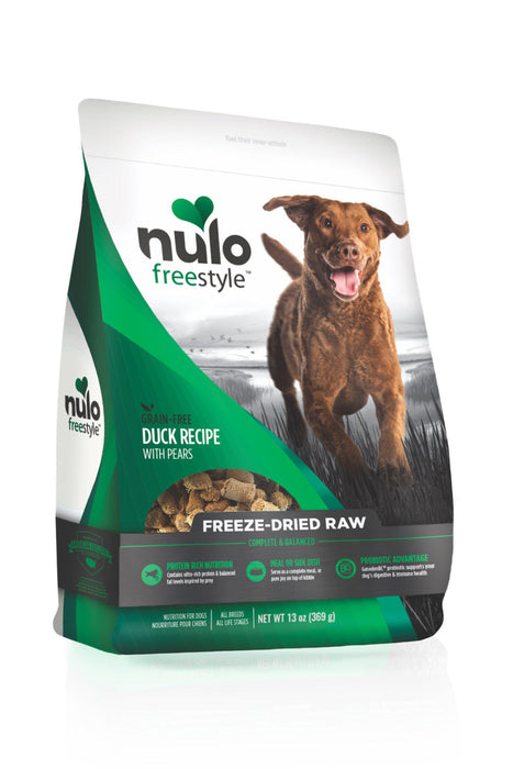 Nulo Freestyle Freeze Dried Raw Duck & Pears Dog Food
