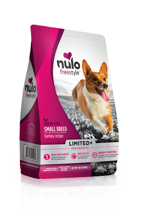Nulo Freestyle Limited+ Turkey Small Breed Dog Food