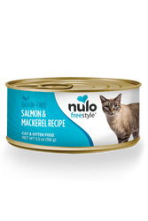Nulo Freestyle Salmon & Mackerel Pate Cat Food, 5.5 oz