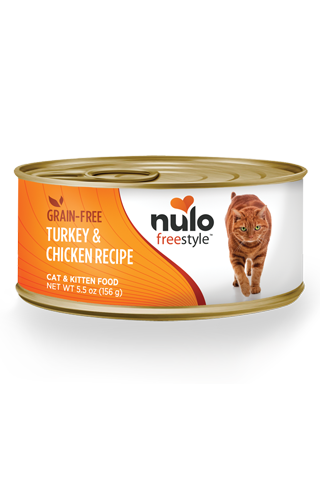 Nulo Freestyle Turkey & Chicken Pate Canned Cat Food