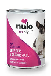 Nulo Freestyle Beef, Peas, & Carrots Pate Canned Dog Food
