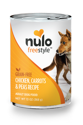 Nulo Freestyle Chicken, Carrots, & Peas Pate Canned Dog Food