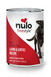 Nulo Freestyle Lamb & Lentils Pate Canned Dog Food
