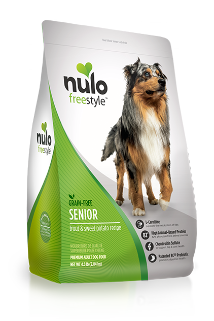 Nulo Freestyle Trout & Sweet Potato Senior Dog Food