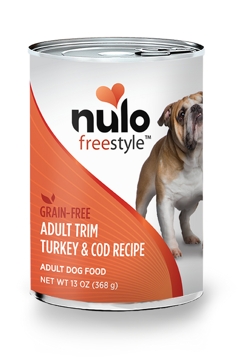 Nulo Freestyle Trim Turkey & Cod Pate Canned Dog Food