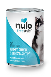 Nulo Freestyle Salmon & Chickpeas Pate Canned Dog Food