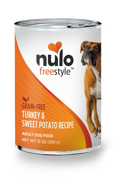 Nulo Freestyle Turkey & Sweet Potato Pate Dog Food