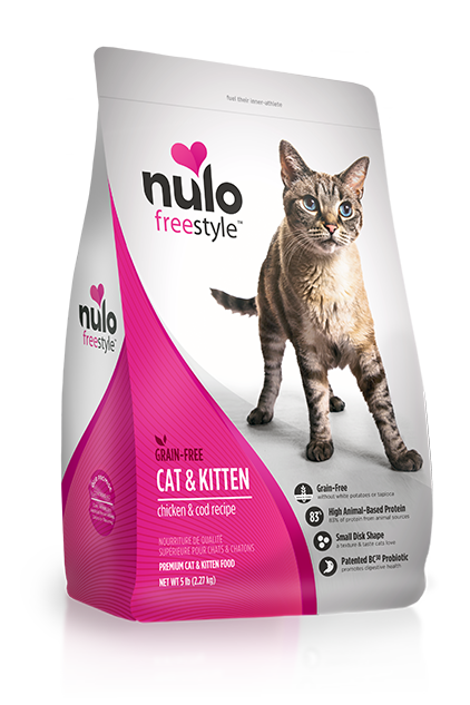 Nulo Freestyle Chicken & Cod Cat and Kitten Food