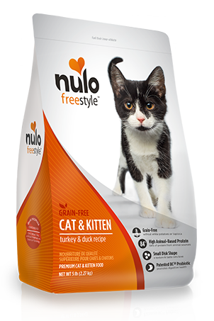 Nulo Freestyle Turkey & Duck Cat and Kitten Food