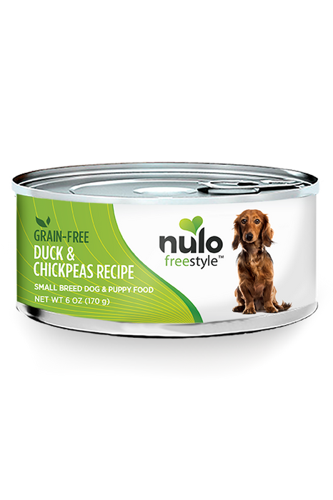 Nulo Freestyle Duck Pate Canned Small Breed Dog Food, 5.5 oz