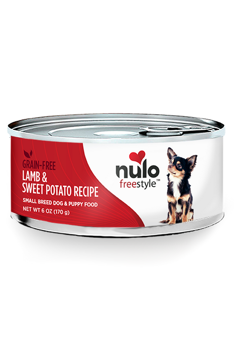 Nulo Freestyle Lamb Pate Canned Small Breed Dog Food