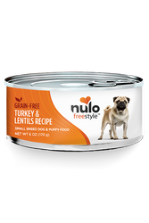 Nulo Freestyle Turkey Pate Canned Small Breed Dog Food