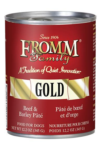 Fromm Gold Beef & Barley Pate Dog Food