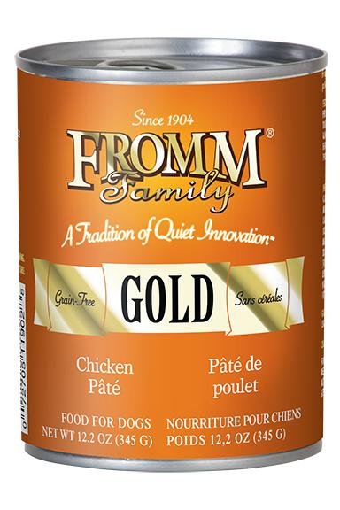 Fromm Gold Chicken Pate wet Dog Food