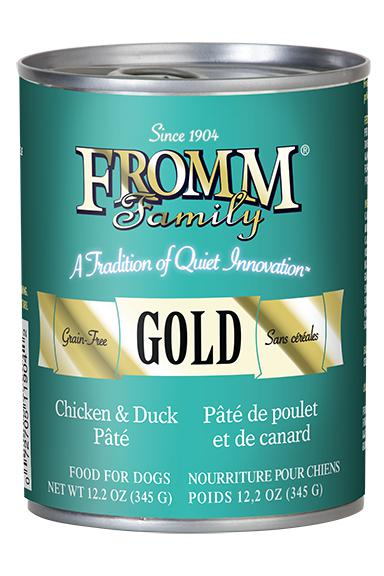 Fromm Gold Chicken & Duck Pate Dog Food