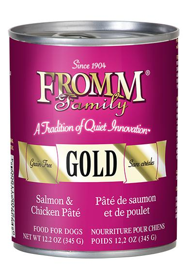 Fromm Gold Salmon & Chicken Pate wet Dog Food