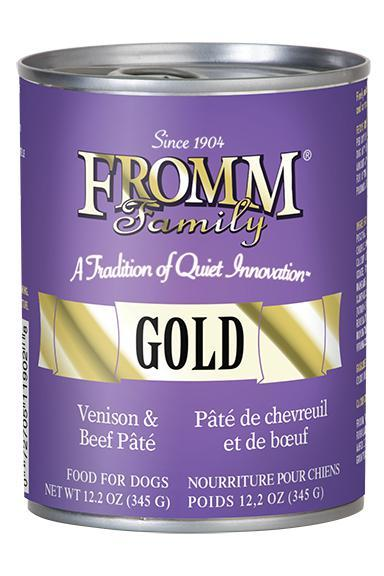 Fromm Gold Venison & Beef Pate wet Dog Food