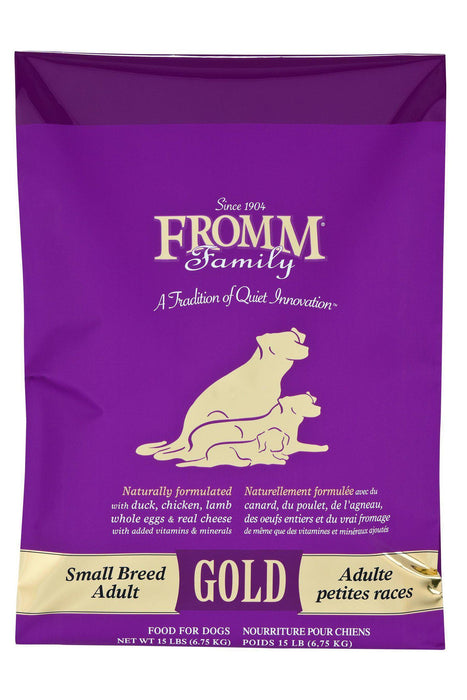 Fromm Gold Adult Small Breed Chicken Dry Dog Food