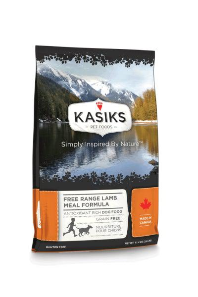 Kasiks Free Range Lamb Dry Dog Food