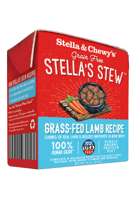 Stella & Chewy's Grass-Fed Lamb Stew Wet Dog Food