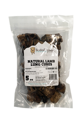Natural Dog Co. Lamb Lungs Dog Treats