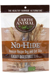 Earth Animal No-Hide Venison Stix dog treats
