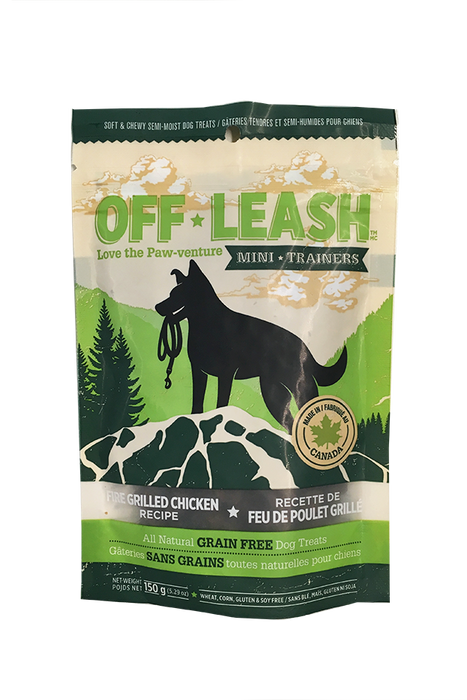 Off-Leash Fire Grilled Chicken Dog Treats