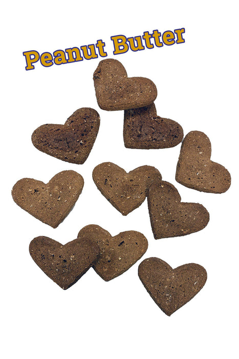 Tomlinson's Peanut Butter Large Heart Bulk Biscuits