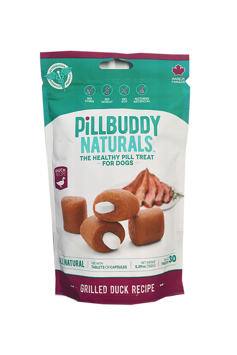 Pill Buddy Natural Duck Pill Pouches for Dogs
