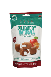 Pill Buddy Natural PB & Apple Pill Pouches for Dogs