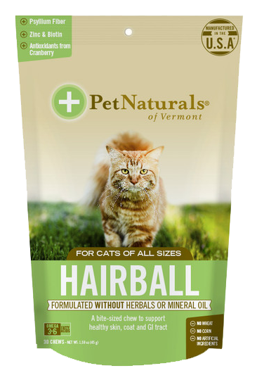 Pet Naturals Hairball Cat Chews