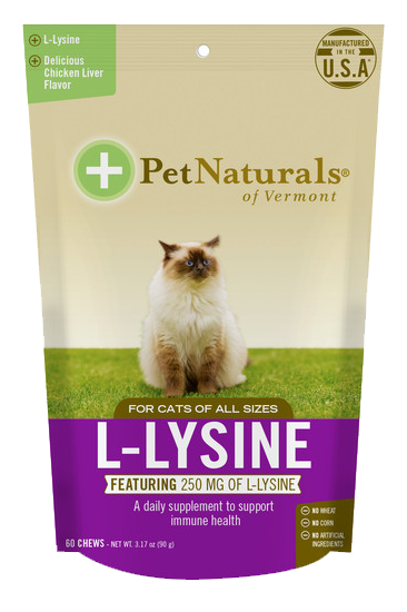 Pet Naturals L-Lysine Cat Chews