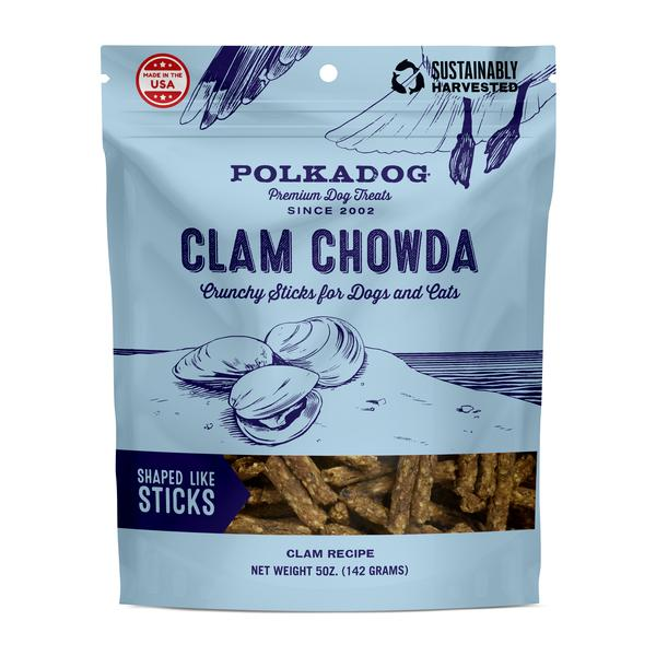 Polkadog Clam Chowda Dog Treats