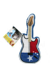 PrideBites Texas Guitar Dog Toy