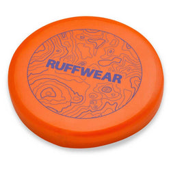 Ruffwear Camp Flyer Mandarin Orange Dog Frisbee