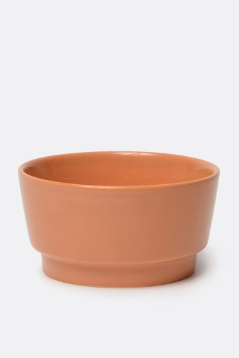 Waggo Rust Gloss Bowl, Small