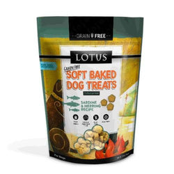 Lotus Soft Baked Sardine & Herring Dog Treats