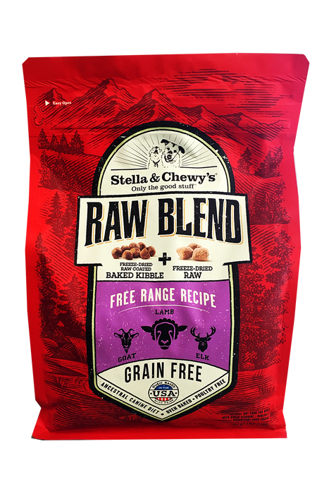 Stella and Chewy's Raw Blend Free Range Dog Food