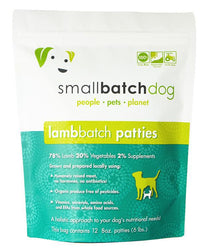Small Batch Lamb Frozen Raw Dog Food, Patties