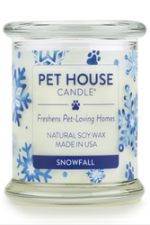 Pet House Candle, Snowfall