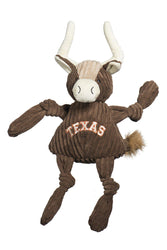HuggleHounds Texas Longhorn Knottie Dog Toy