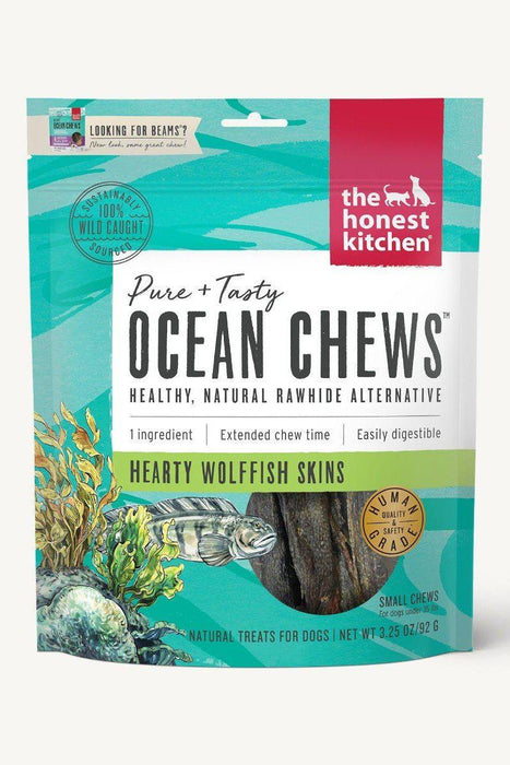 The Honest Kitchen Beams Wolfish Skin Dental Chews Small