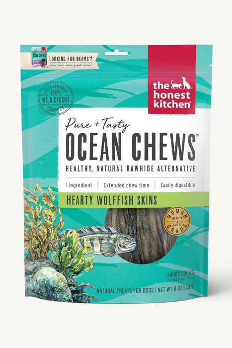 The Honest Kitchen Beams Wolfish Skin Dental Chews Large